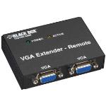 Black Box AC555A-REM-R2 AV receiver Black audio/video extender