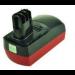 2-Power 18V 3000mAh Nickel Metal Hydride 3000mAh 18V rechargeable battery