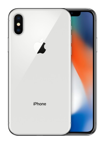 "Apple iPhone X 5.8"" Single SIM 4G 256GB Silver"