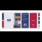 HP 83 Magenta DesignJet UV-Druckkopf und Druckkopfreiniger