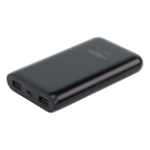 Ansmann Powerbank 10.8 power bank Black Lithium Polymer (LiPo) 10800 mAh