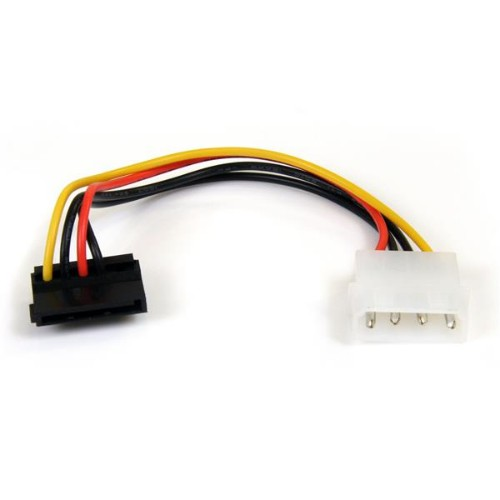 StarTech.com 6in 4 Pin LP4 to Right Angle SATA Power Cable Adapter