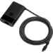 HP 65W USB-C Slim Travel adaptador e inversor de corriente Interior Negro