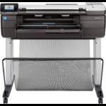 HP Designjet T830 large format printer Inkjet Colour 2400 x 1200 DPI A1 (594 x 841 mm) Ethernet LAN Wi-Fi