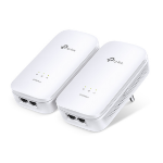 TP-LINK AV2000 2000Mbit/s Ethernet LAN White 2pc(s) PowerLine network adapterZZZZZ], TL-PA9020 KIT
