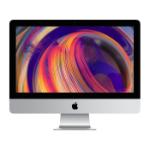"Apple iMac 54.6 cm (21.5"") 4096 x 2304 pixels 8th gen Intel® Core™ i5 8 GB DDR4-SDRAM 1000 GB Fusion Drive Silver All-in-One PC"