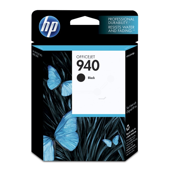 HP C4902AE (940) Ink cartridge black, 1000 pages, 22ml
