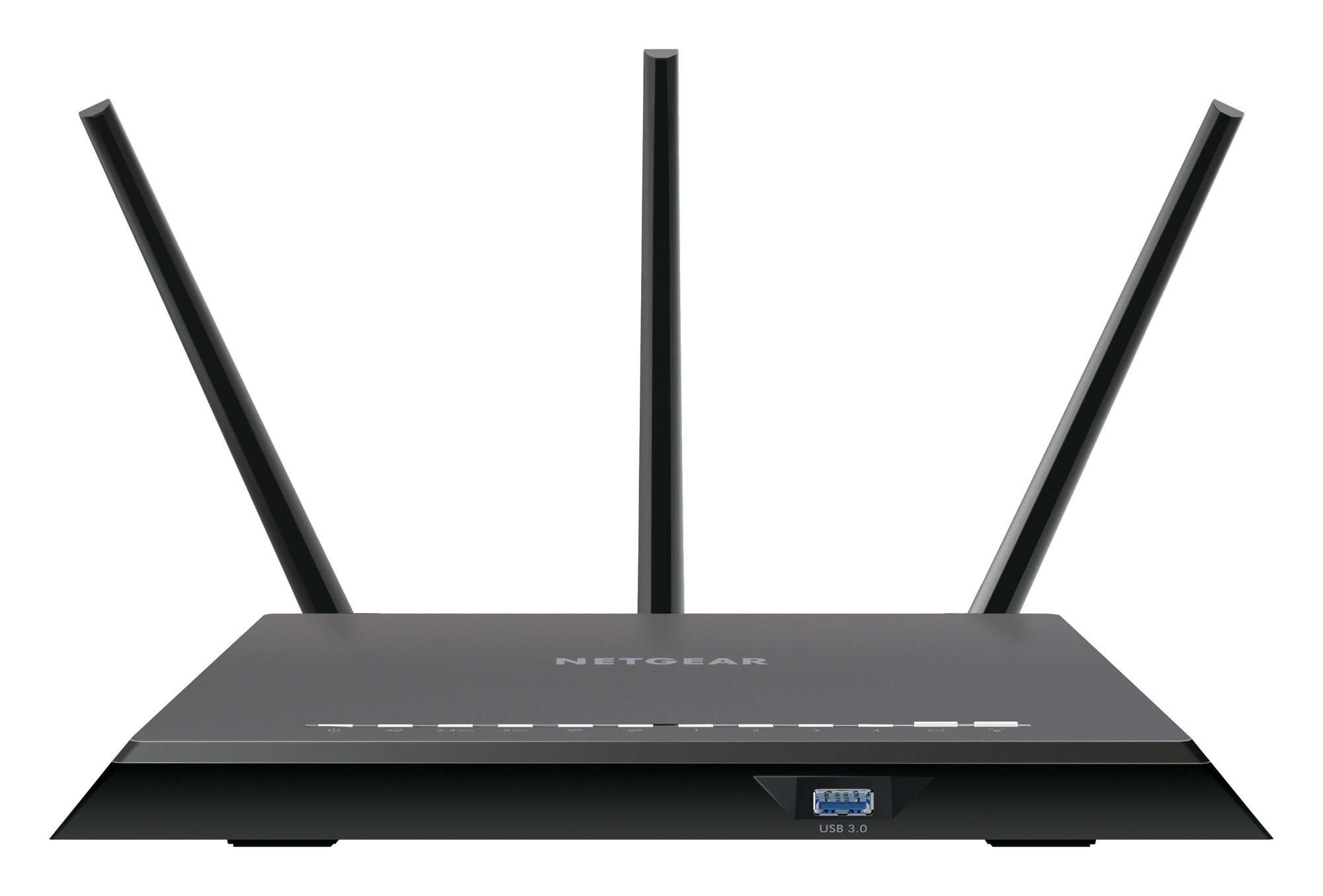Netgear R7000 router inalámbrico Doble banda (2,4 GHz / 5 GHz) Gigabit Ethernet Negro
