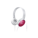 Panasonic RP-HF300ME-P Head-band Binaural Wired Pink,White mobile headset