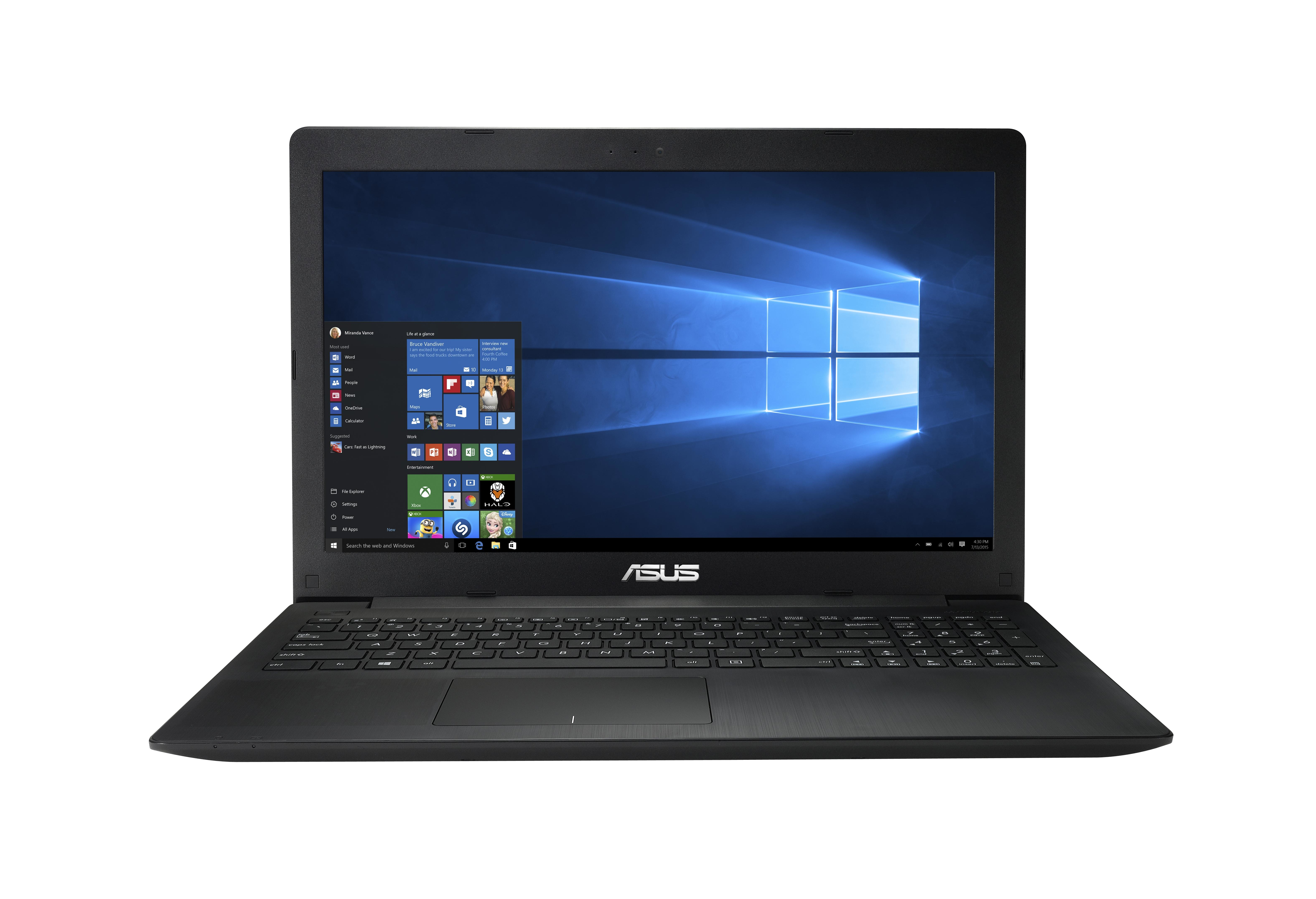 "ASUS X553SA-XX166T Intel Celeron N3050 1.60 GHz 1TB Hard Drive 4GB RAM 15.6"" Widescreen Windows 10 Home"