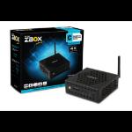Zotac CI325 nano N3160 1.6 GHz 0.92L sized PC Black BGA 1170
