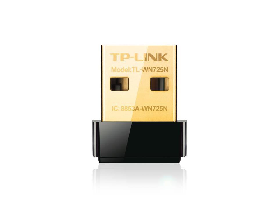 TP-LINK 150Mbps Wireless N Nano USB TL-WN725N