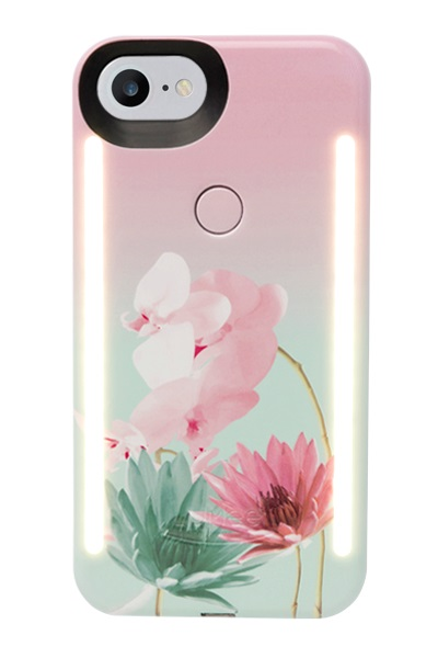 Lumee Duo For iPhone 8 - Desert Flower