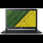 "Acer Aspire 5 A517-51-363X Zwart Notebook 43,9 cm (17.3"") 1600 x 900 Pixels Zevende generatie Intel® Core™ i3 i3-7020U 4 GB DDR4-SDRAM 256 GB SSD"