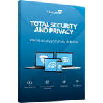 F-SECURE Total Security and Privacy Full license 2year(s) CHI (TR),DAN,DEU,DUT,ENG,FIN,FRE,NOR,SWE