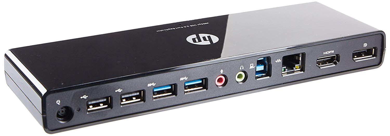 2-Power ALT108166B notebook dock/port replicator Wired USB 3.0 (3.1 Gen 1) Type-A Black