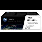 HP CF410XD (410X) Toner black, 6.5K pages, Pack qty 2