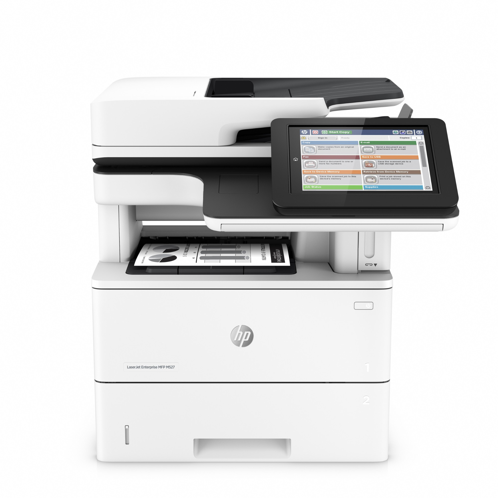 HP LaserJet Managed Enterprise Flow MFP M527cm 1200 x 1200DPI Laser A4 43ppm