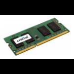 Crucial 8GB DDR3 SODIMM memory module 1600 MHz