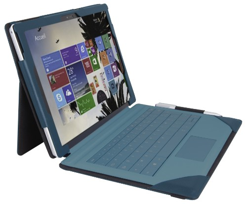 Urban Factory Elegant Folio Case for Microsoft Surface 3, Teal
