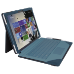 Urban Factory Elegant Folio Case for Microsoft Surface 3, Teal