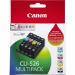 Canon CLI-526 C/M/Y/BK Original Negro, Cian, Amarillo, Magenta 4 pieza(s)