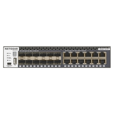 Netgear M4300-12X12F Managed L2/L3 10G Ethernet (100/1000/10000) 1U