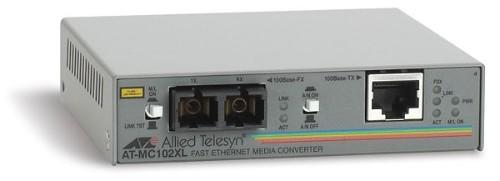 Allied Telesis AT-MC102XL network media converter 100 Mbit/s