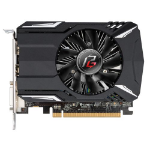 Asrock Phantom Gaming Radeon RX560, 4GB DDR5, PCIe3, DVI, HDMI, DP, 1223MHz Clock