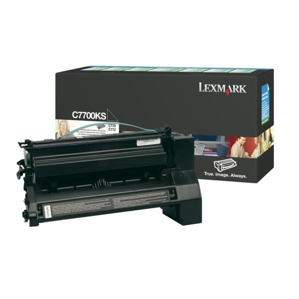 Lexmark C7700KS Toner black, 6K pages @ 5% coverage