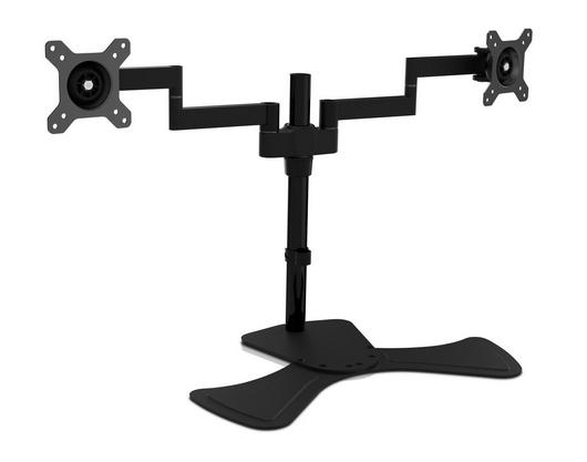 V7 Dual Swivel Desk Stand Mount