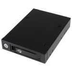 "StarTech.com SATSASBP125 drive bay panel 3.5"" Carrier panel Black, Silver"