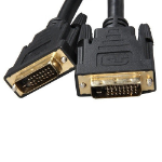 8WARE VGA DVI-D Dual-Link Cable 5m - 28 AWG Dual-link DVI-D Male 25-pin