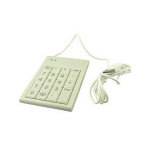 2-Power KEY2001W Universal USB White numeric keypad