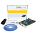 StarTech.com 3 Port 2b 1a PCI 1394b FireWire Adapter Card with DV Editing Kit PCI1394B_3