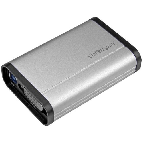 StarTech.com USB 3.0 Capture Device for High-Performance DVI Video - 1080p 60fps - Aluminum