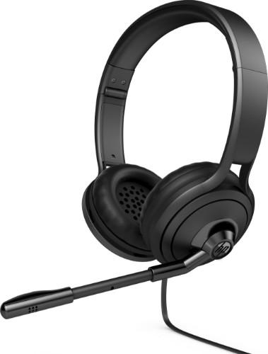 HP 500 Binaural Head-band Black headset
