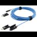 Kramer Electronics CLS-AOCH/XL-33 cable HDMI 10,058 m HDMI tipo A (Estándar) Azul