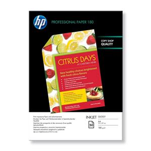 HP Professional Glossy Inkjet Paper-50 sht/A4/210 x 297 mm