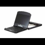 "Aten CL3800NX rack console 47 cm (18.5"") 1366 x 768 pixels Metal Black 1U"