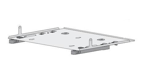 Cisco CMPCT-DIN-MNT= accesorio de bastidor Kit de carriles de rack