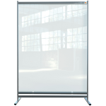 Nobo 1915553 magnetic board Gray, Transparent