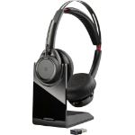 POLY Voyager Focus UC Headset Head-band Bluetooth Black