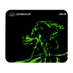 ASUS Cerberus Mat Mini Black, Green Gaming mouse pad