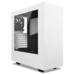 NZXT S340 Midi-Tower White computer case
