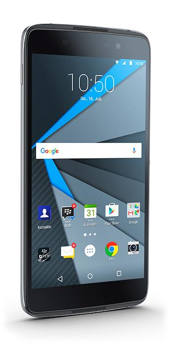 "BlackBerry DTEK50 13.2 cm (5.2"") 3 GB 16 GB Single SIM Black 2610 mAh"