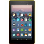Amazon Fire 7 8GB Yellow tablet