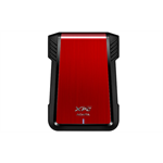 "ADATA EX500 HDD/SSD enclosure 2.5/3.5"" Black,Red"