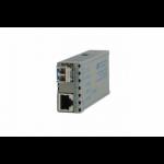 Omnitron miConverter GX/T network media converter 1000 Mbit/s 850 nm Multi-mode Grey