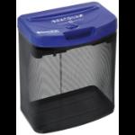 Swordfish 800XC Cross shredding 72dB Black,Blue paper shredder